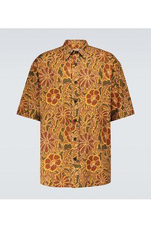 Nanushka Alain printed short-sleeved shirt