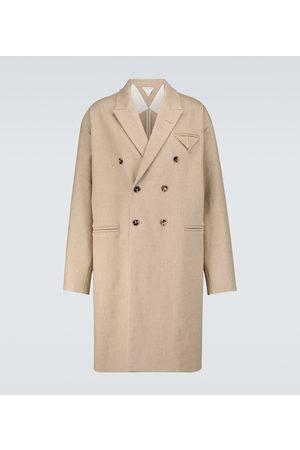 Bottega Veneta Stretch-linen canvas coat