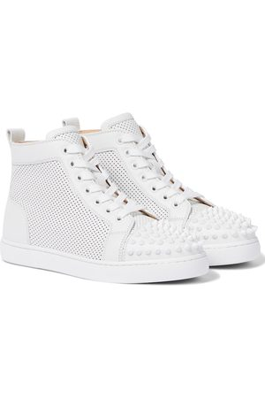 Christian Louboutin Lou Spikes leather sneakers