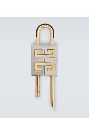 Givenchy Small 4G padlock keyring