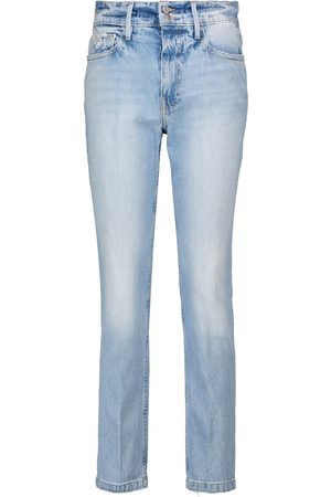 Frame Le Sylvie high-rise slim jeans