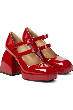 NODALETO Bulla Babies patent leather pumps