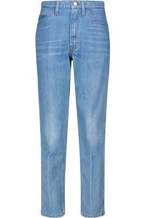 Frame Women High Waisted - Le Italien high-rise straight jeans