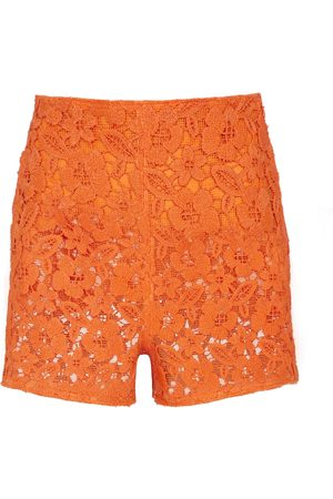 VALENTINO Guipure lace shorts