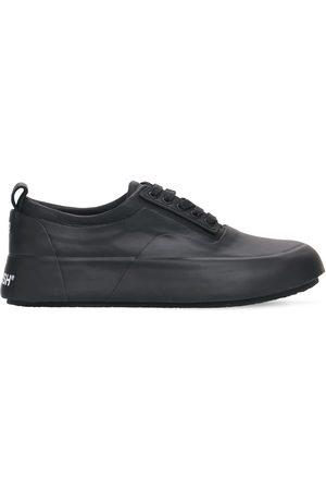 AMBUSH Women Sneakers - 30mm Vulcanized Rubber & Leather Sneaker