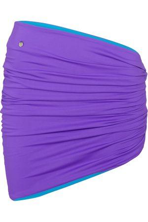 The Attico Ruched miniskirt