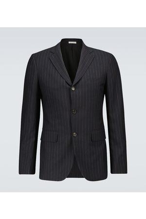 COMME DES GARÇONS HOMME DEUX Wool chalk-striped blazer