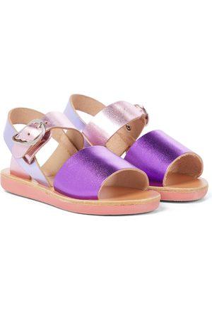 Ancient Greek Sandals Little Kaliroi Soft leather sandals