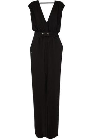 Rick Owens DRKSHDW Phleg V-neck gown