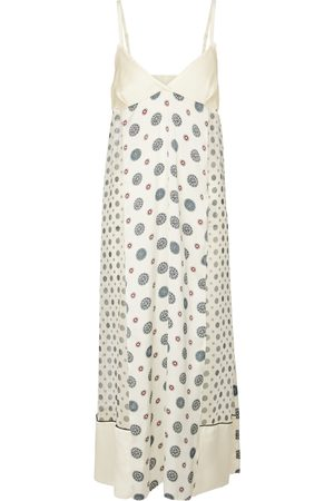 SACAI Printed maxi dress