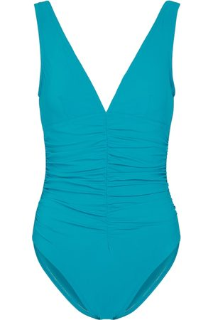 Karla Colletto Basics V-neck swimsuit