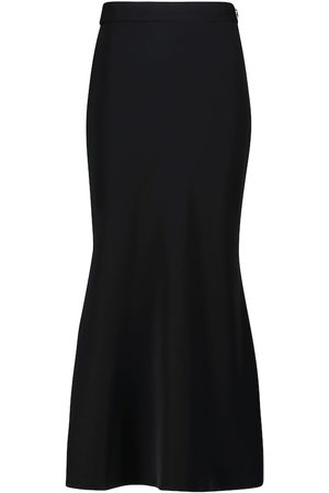 Deveaux New York Elle high-rise midi skirt