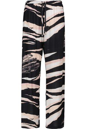 Max Mara Egeria printed stretch-jersey pants