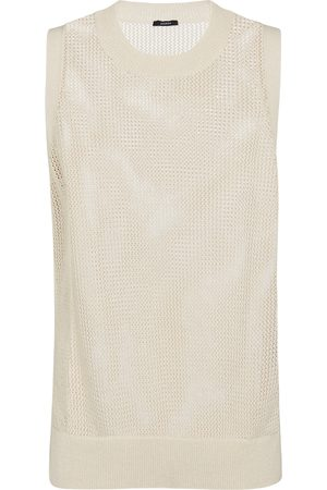 Joseph Crispy cotton sweater vest