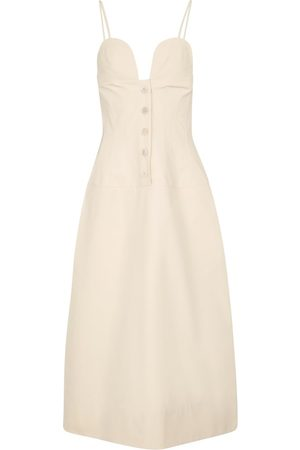 Jil Sander Cotton poplin midi dress