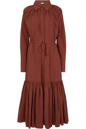 Deveaux New York Samira cotton shirt dress