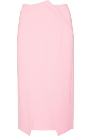 Roland Mouret Capel high-rise crêpe pencil skirt