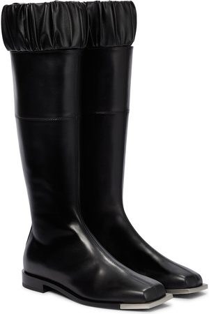 Peter Do Leather knee-high boots