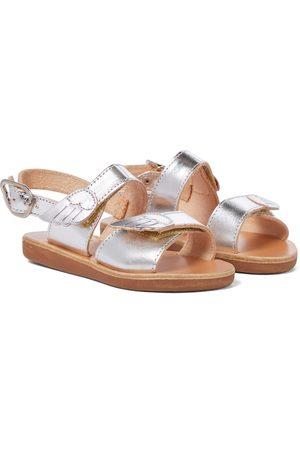 Ancient Greek Sandals Little Iliada Soft leather sandals