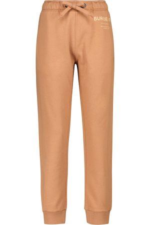 Burberry Horseferry cotton jersey sweatpants