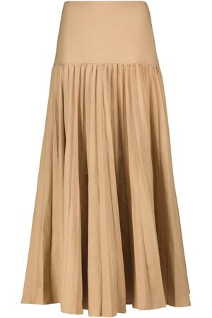 Joseph Sven linen and cotton maxi skirt
