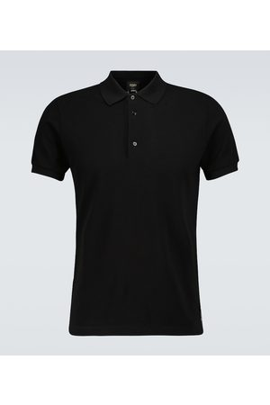 Fendi Short-sleeved polo shirt