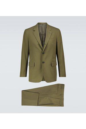 CARUSO Macbeth cotton suit