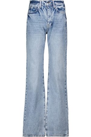 Frame Le Jane high-rise straight jeans