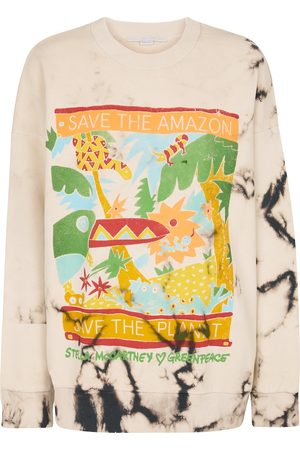 Stella McCartney Tie-dye organic cotton sweatshirt
