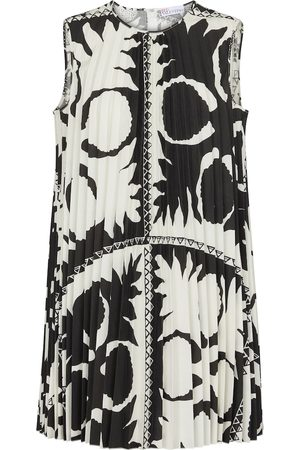 RED Valentino Printed pleated top