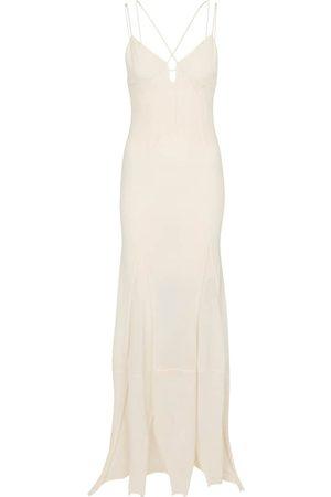 Jacquemus La Robe Basgia cotton-blend maxi dress