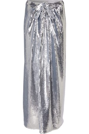 Paco rabanne Sequined midi skirt