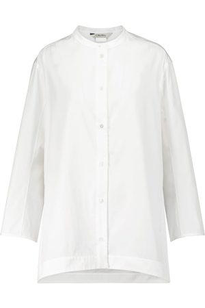 Max Mara Anny cotton poplin shirt