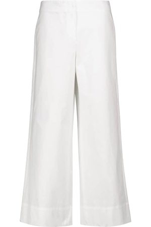 Max Mara Lonza cotton canvas culottes