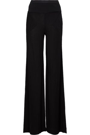 Rick Owens Lilies high-rise flared pants