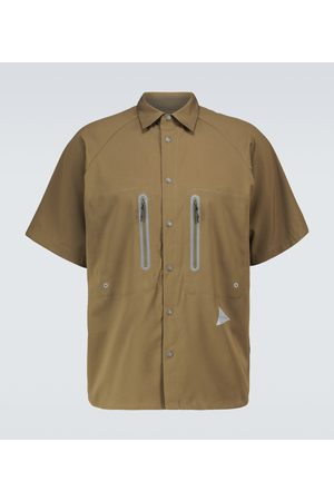 and wander Technical short-sleeved shirt
