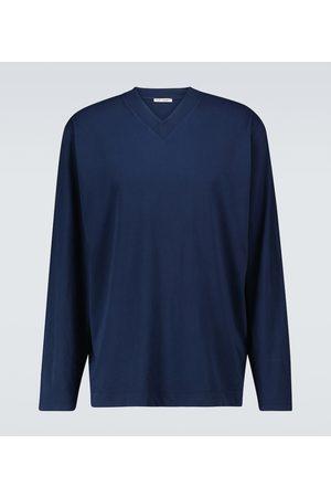 OUR LEGACY Box V-neck jersey sweatshirt