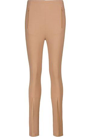 WARDROBE.NYC Release 05 high-rise split-hem leggings