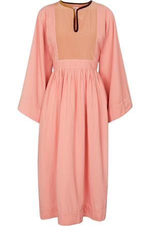 VISVIM Hippie cotton midi dress