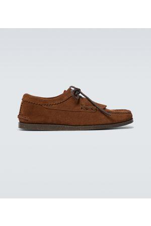 YUKETEN Blucher shoes with kiltie