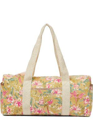 Louise Misha Vaeva quilted cotton weekend bag
