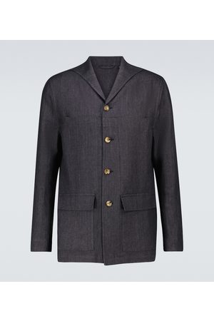 LARDINI Elleon linen jacket
