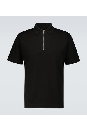 Givenchy Zipped short-sleeved polo shirt