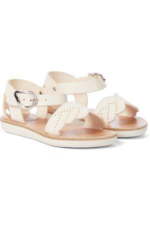 Ancient Greek Sandals Little Andromeda leather sandals