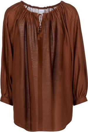 Max Mara Farea silk-blend blouse