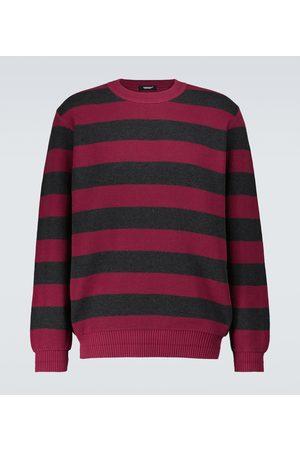 UNDERCOVER Striped cotton sweater