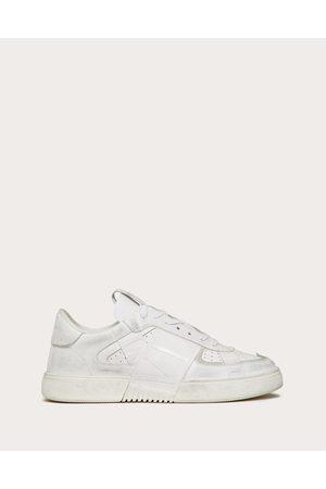 VALENTINO GARAVANI Men Sneakers - Low-top Calfskin Vl7n Sneaker With Bands Man Polyester 100% 39