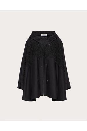 VALENTINO Women Sweatshirts - Jersey And Macramé Oversize Sweatshirt Women Cotton 94% L