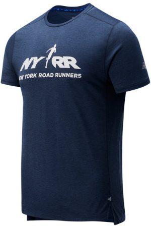 New Balance Men's RFL Printed Impact Run Short Sleeve