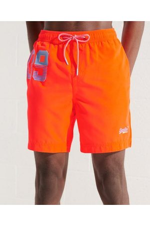 Superdry Men Swim Shorts - Waterpolo Swim Shorts
